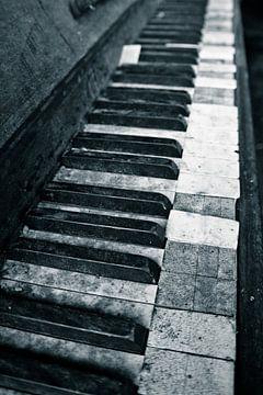 piano toetsen van Jo Beerens