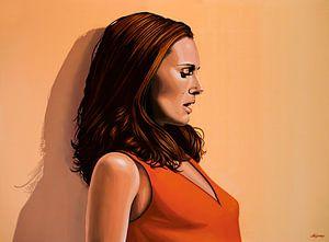 Natalie Portman Schilderij