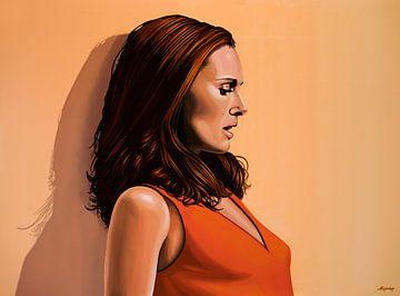 Natalie Portman Painting sur Paul Meijering