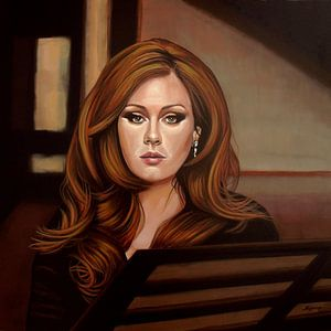 Adele schilderij van