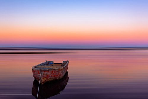 Dromerige boot van Gea Gaetani d'Aragona