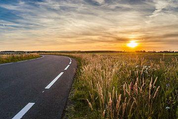 Zomeravond in de Hollandse polder van Fotografiecor .nl