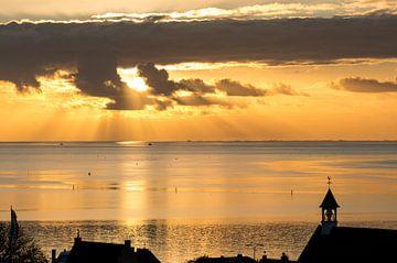 Terschelling bij zonsondergang - 9 von Damien Franscoise