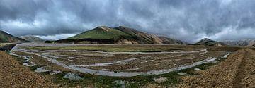 IJsland Landmannalaugar van Maarten van der Voorde