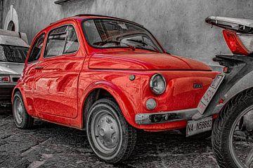Red 500 van Frames by Frank
