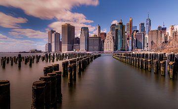 Manhattan Skyline sur Robbert Ladan