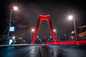 Willemsbrug Rotterdam van Jeroen Mikkers