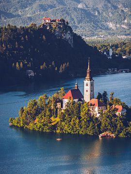 Slovenië - het Bled-meer van Alexander Voss