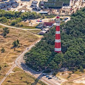 "Leuchtturm ""Bornrif"" Watten Insel Ameland von Roel Ovinge"