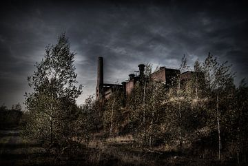 Verlaten sinterfabriek von