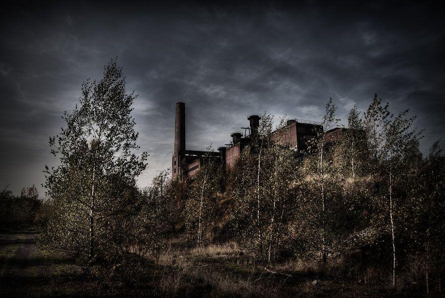 Verlaten sinterfabriek van Eus Driessen