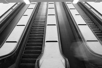 Escalator van Pieter Boogaard