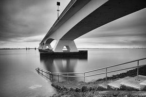 Tauchplatz an der Zeelandbrücke von Jan van der Vlies