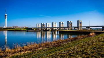 Schleusen in Lelystad von Erwin Floor