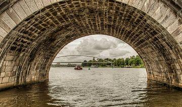 Doorkijkje Sint-Servaas Maastricht van John Kreukniet