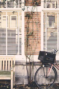 Fiets in Den Haag van Patrycja Polechonska