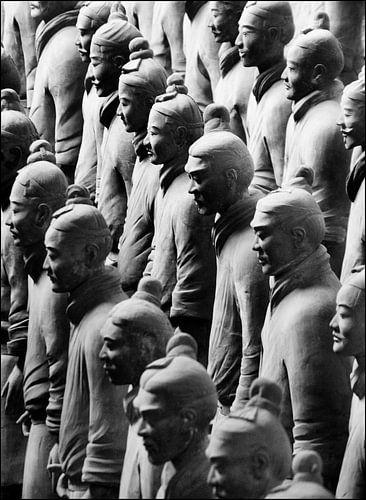 Terracotta leger van