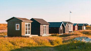 Strandhäuser II von Kirsten Warner