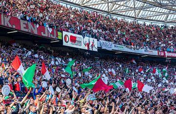 Feyenoord Rotterdam landskampioen 2016 - 2017 van