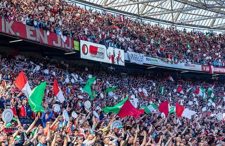 Feyenoord Rotterdam landskampioen 2016 - 2017