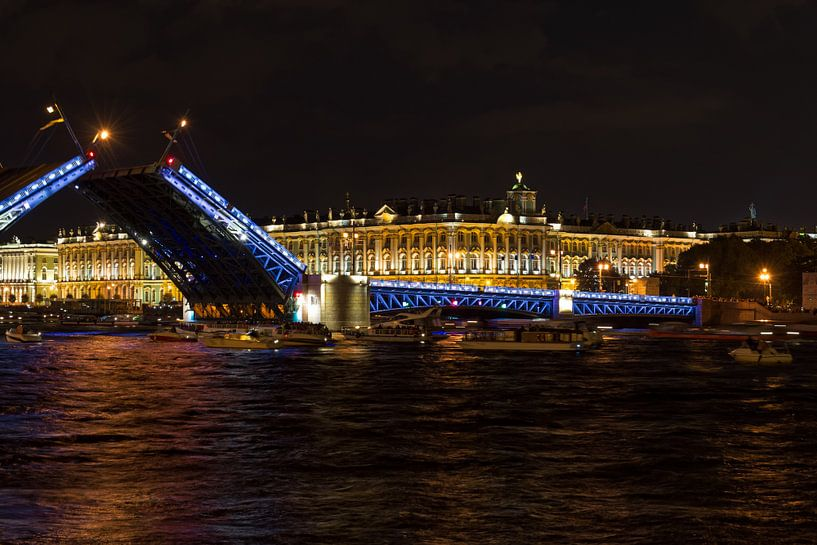 St. Petersburg Nacht van Borg Enders