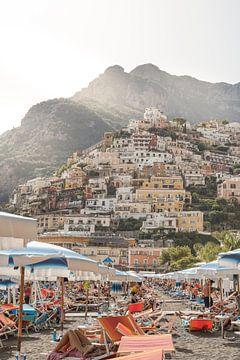 Strand von Positano - Amalfiküste, Italien von Henrike Schenk