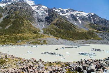 Hooker Valley Track, Mt Cook, Nieuw Zeeland von Willem Vernes