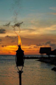 Brennendes Öl von Graham Forrester