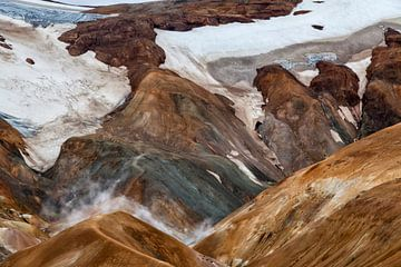Kerlingarfjöll Islande sur Cor de Bruijn