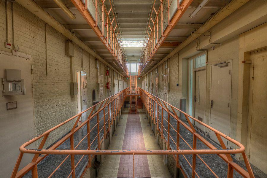 Verlaten gevangenis van Eus Driessen