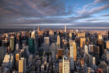 Ausblick vom Empire State Building van