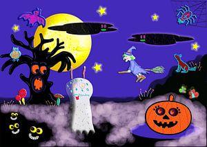 Halloween van