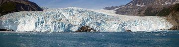 Aialik Gletsjer Alaska  van Menno Schaefer