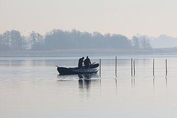Vissen op het Slotermeer Friesland van Fotografie Sybrandy
