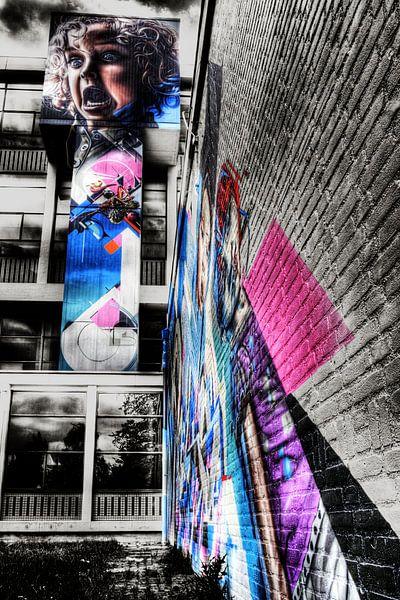 Graffiti van Jasper Scheffers