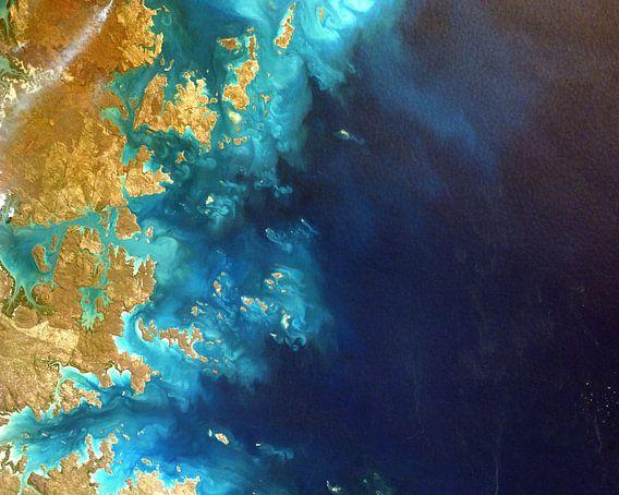 Ocean Coverage van World Maps