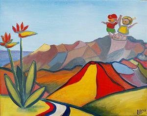 Landschaft La Palma 4 von Lorette Kos