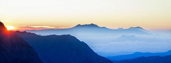 Bromo Sunrise, Java, Indonesie van Jaap van Lenthe