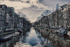 Amsterdam- view from a bridge van