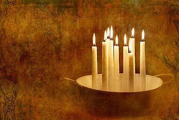 Kerzenromantik von Heike Hultsch