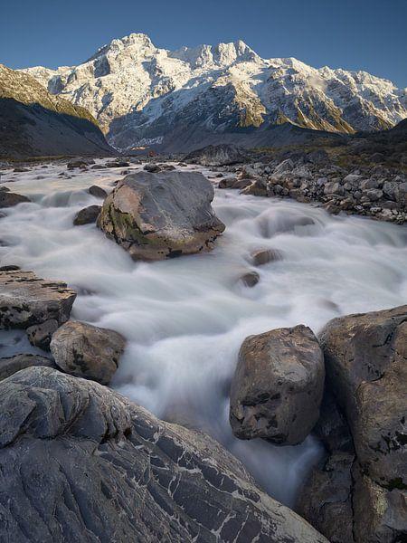 Hooker River Boulders van Keith Wilson Photography