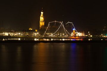 Enkhuizen by Night van