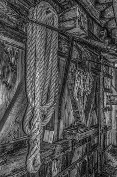 Stilleven in zwart-wit van Ans Bastiaanssen