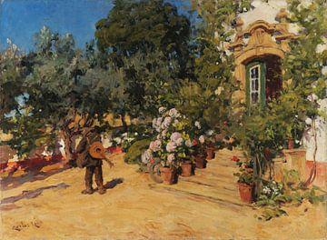 Carlos Reis~Der Gitarrist im Garten