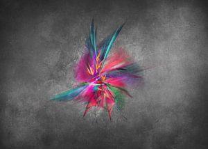 Fraktale abstrakte Kunst Orchidee #Fraktale #Abstrakt