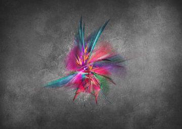 Fraktale abstrakte Kunst Orchidee #Fraktale #Abstrakt von JBJart Justyna Jaszke