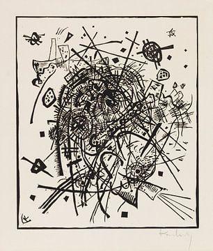 Kleine Welten VIII, WASSILY KANDINSKY, 1922 von Atelier Liesjes