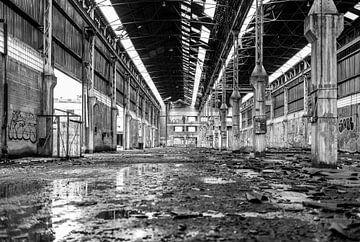 Fabrikhalle in Charleroi von Jessica Brouwer