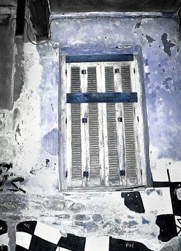 Verschlossen-1-Blau von Pia Schneider