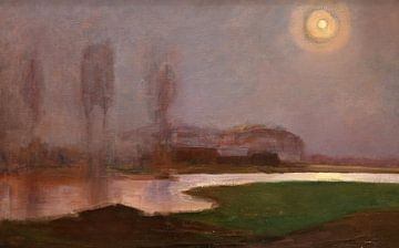 Sommernacht - Piet Mondrian